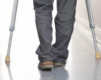 PersonOnCrutches