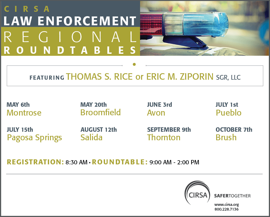 2021 Law Enforcement Regional Roundtables